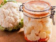 Туршия от карфиол със сол и оцет